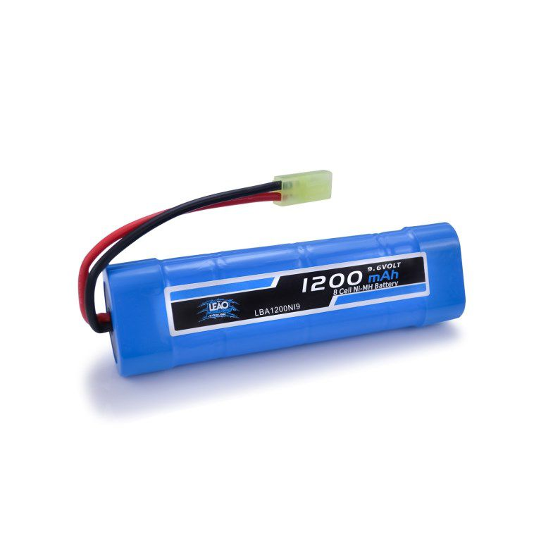 Bateria Airsoft - NIMH - 9.6V - 1200mAh - Mini Tamiya - LM