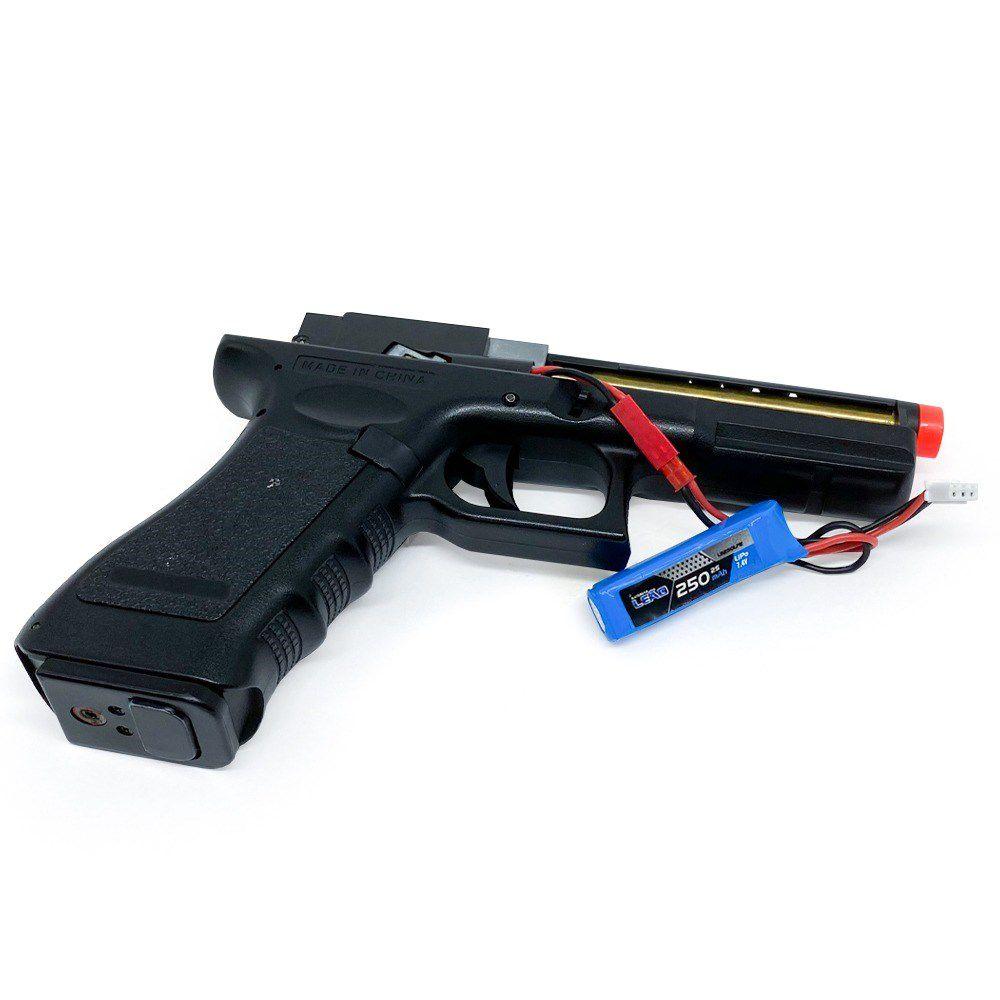 Bateria Lipo para AEP - 7.4V/2S (pack único) - 250mAh - 20C - LM