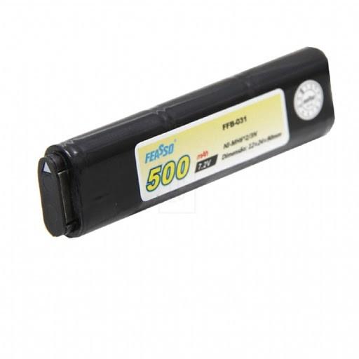 Bateria Ni-MH para Pistola Airsoft (AEP) FFB-031 - 7,2V - 500 mah