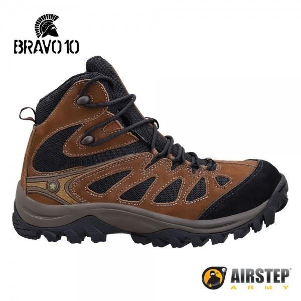 Bota Airstep Hiking Bravo 10 5700 - Brown Black