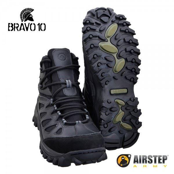 Bota Airstep Hiking Bravo 10 5700 - Black
