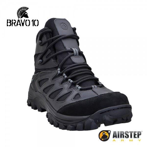 Bota Airstep Hiking Bravo 10 5700 - Preta