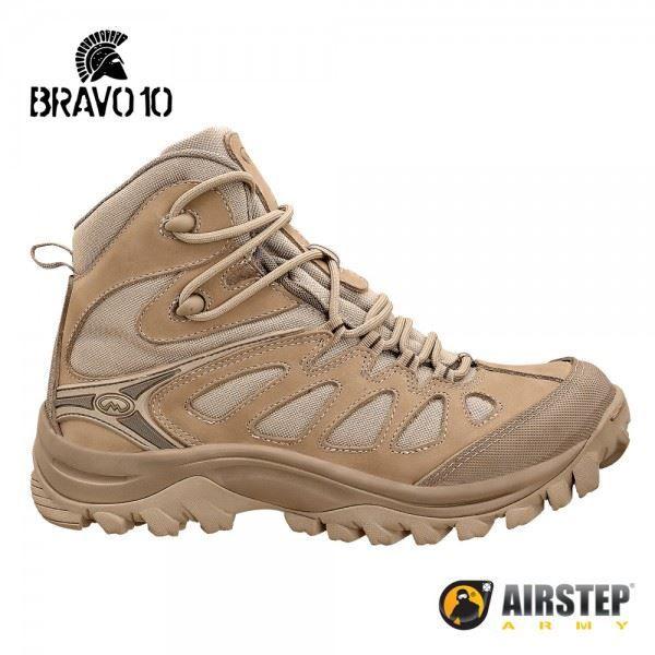 Bota Airstep Hiking Bravo 10 5700 - Tan