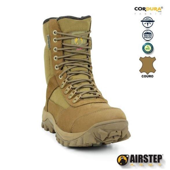 Bota Tática Militar Airstep 8625 - Coyote - Antiperfurante