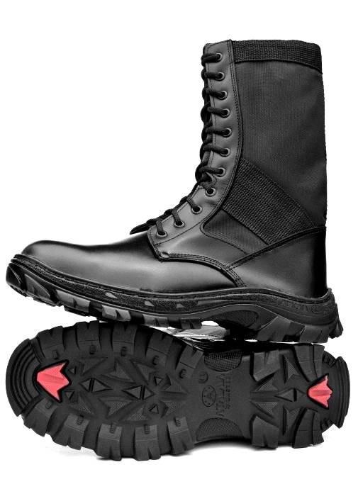 Bota Tática Militar Atalaia Troller C/ Zipper - Preto