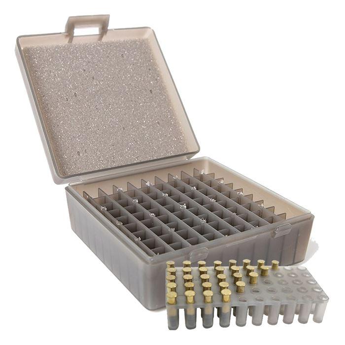 Caixa para 100 munições .38 / .357 - Shotgun