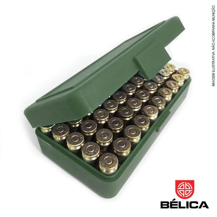 Caixa para 50 munições .40 (7,65 - 9mm - 380) - Bélica