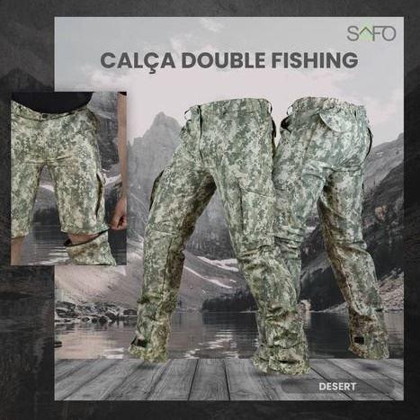 Calça Double Fishing SAFO (Calça e Bermuda)