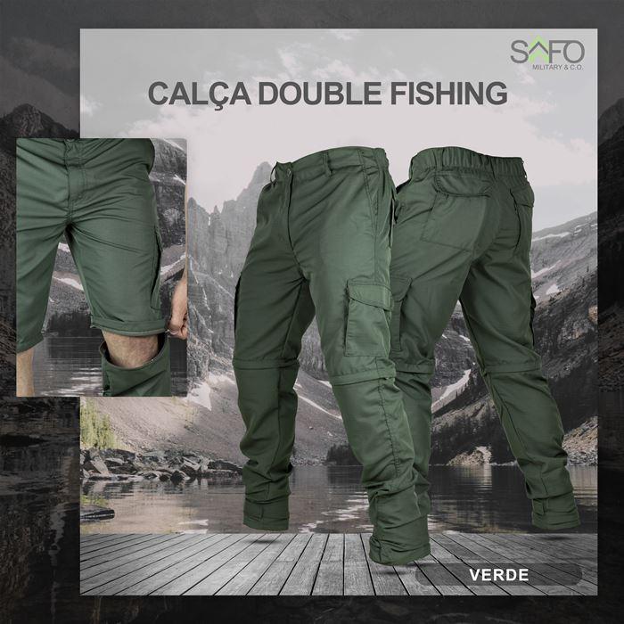 Calça Double Fishing SAFO (Calça e Bermuda) - Verde