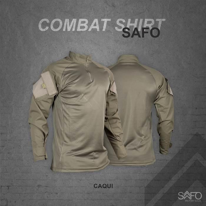 Camisa de Combate + Calça Tática - SAFO - Caqui