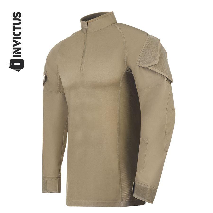 Camisa de Combate Operator Invictus - Caqui Mojave