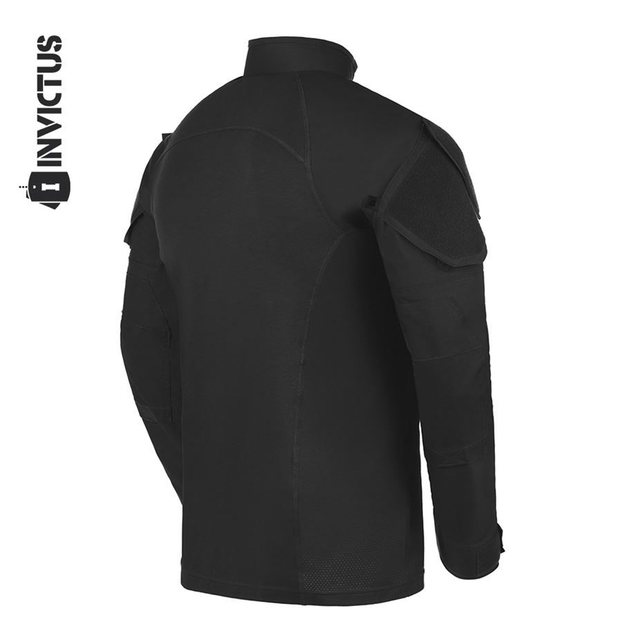 Camisa de Combate Operator Invictus - Preto