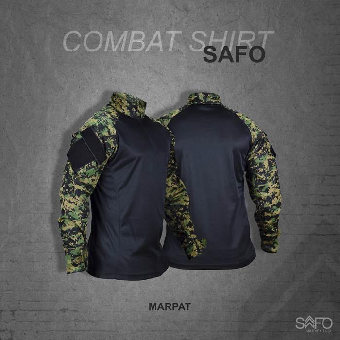 Camisa de Combate Safo Militaria - Marpat