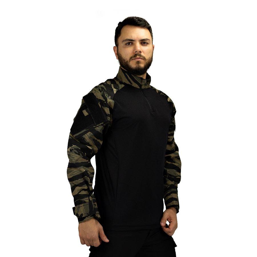 Camisa de Combate Safo Militaria - Tiger Jungle