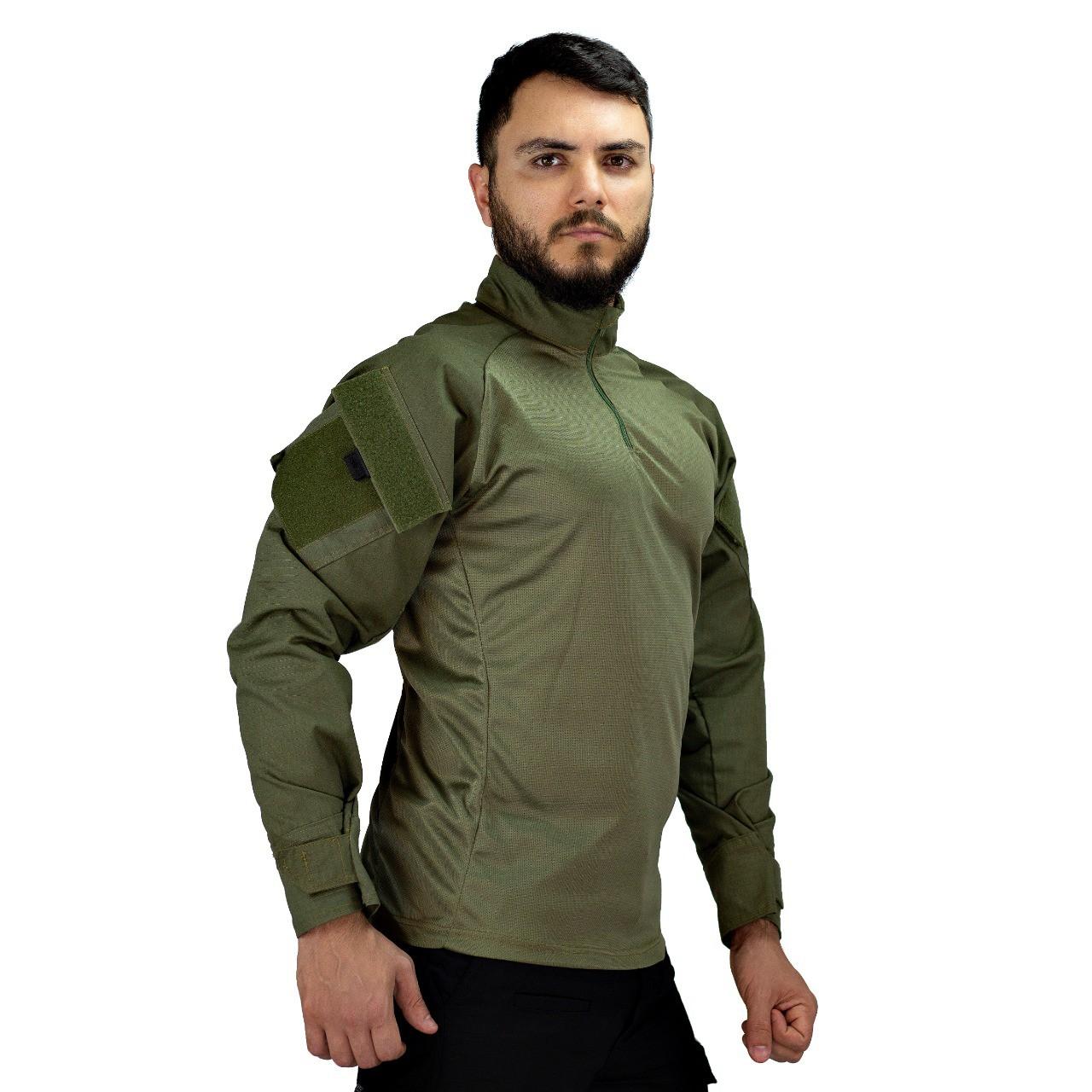 Camisa de Combate Safo Militaria - Verde Oliva