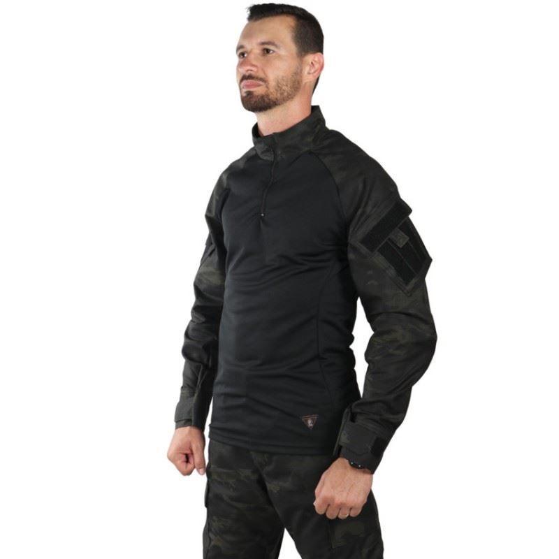 Camisa de Combate Steel Bélica - Multicam Black