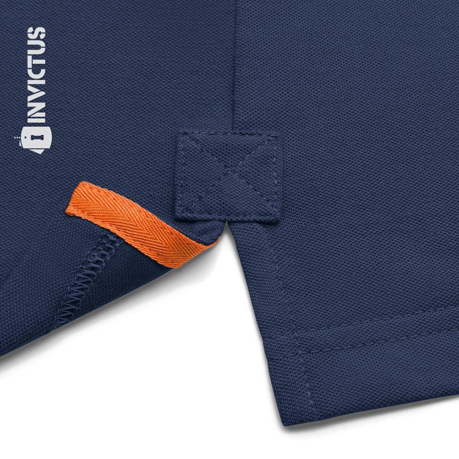Camisa Polo Control Invictus - Azul Aviator