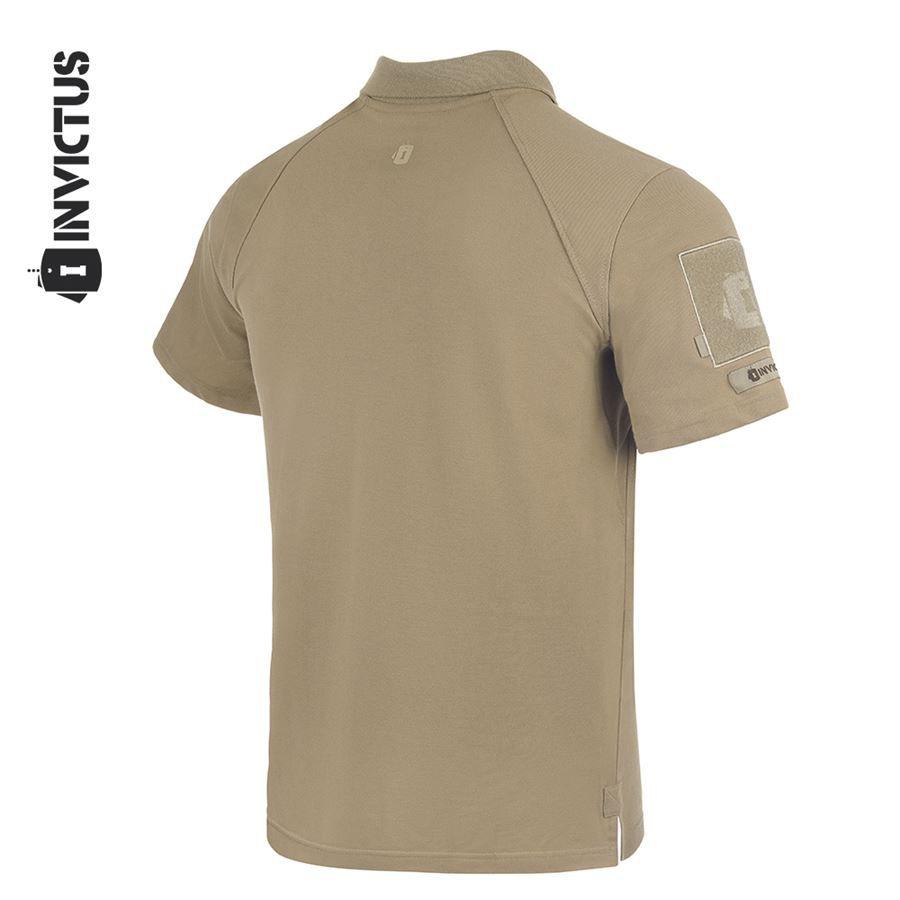 Camisa Polo Control Invictus - Caqui Mojave