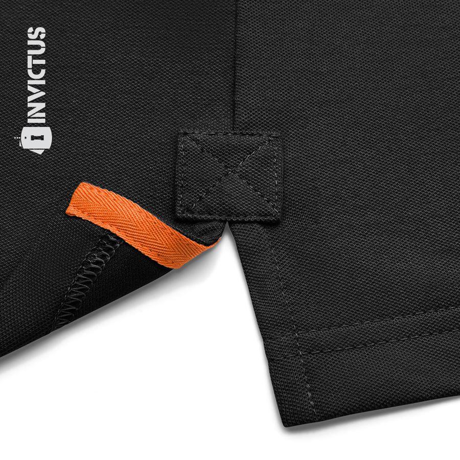 Camisa Polo Control Invictus - Preto