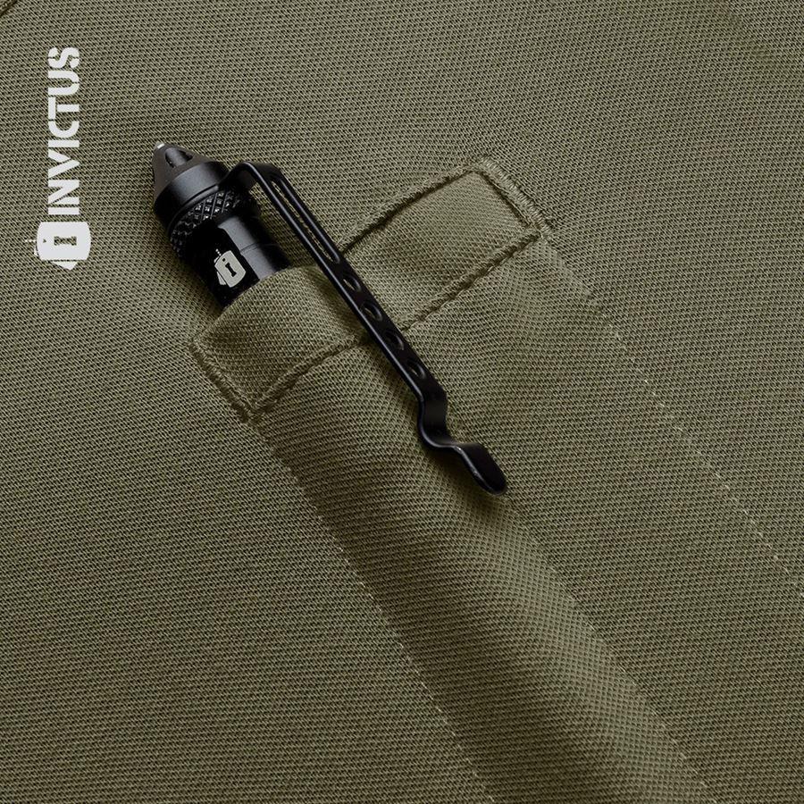 Camisa Polo Control Invictus - Verde Oliva
