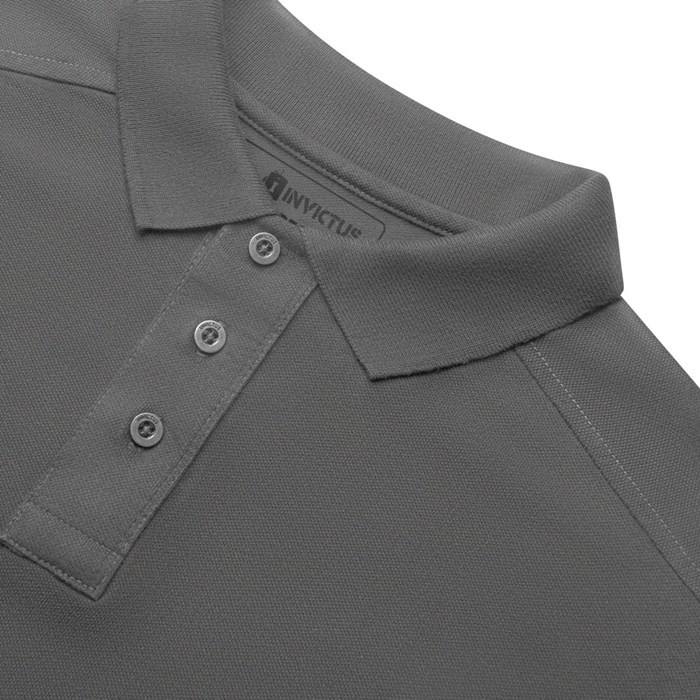 Camisa Polo Hero Invictus - Cinza Crômio