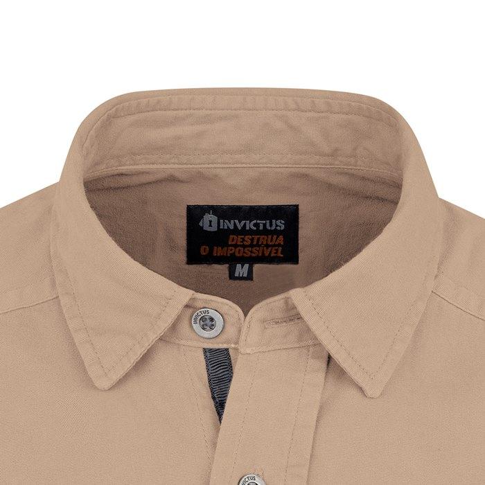 Camisa de Sarja Endurance Invictus - Caqui