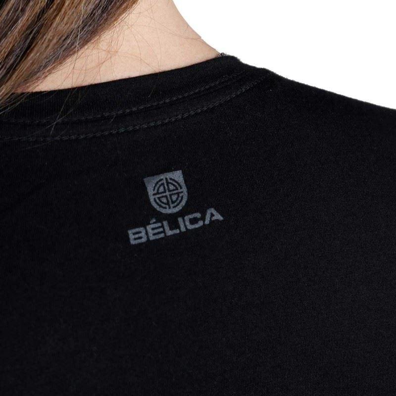Camiseta Feminina Bélica Soldier - Preto
