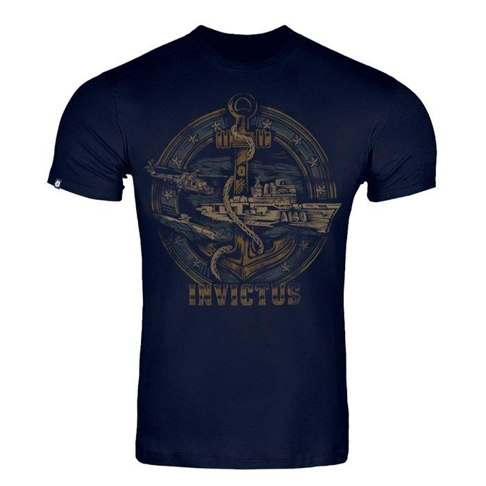Camiseta Invictus Concept - Poder Naval