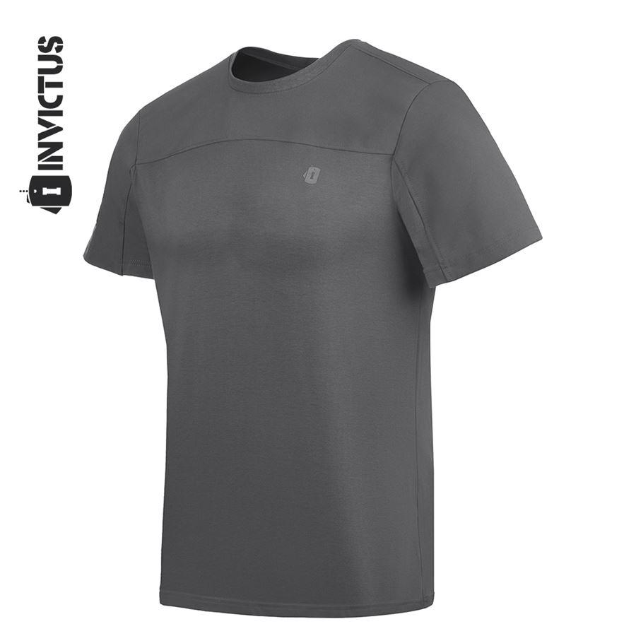 Camiseta Invictus Infantry 2.0 - Cinza Pilot