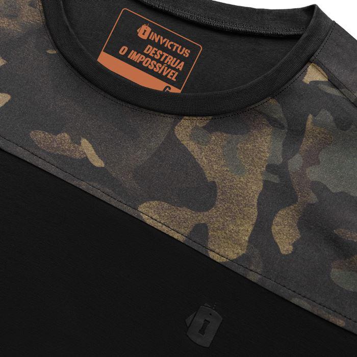 Camiseta Invictus Infantry 2.0 - Multicam Black