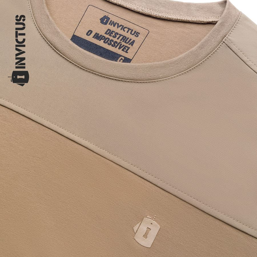 Camiseta Invictus Infantry - Caqui Mojave