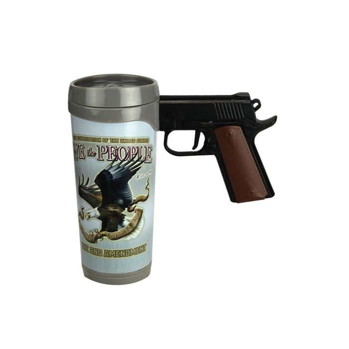 Caneca de Pistola (Pistol Mug) - WE THE PEOPLE - 470ML