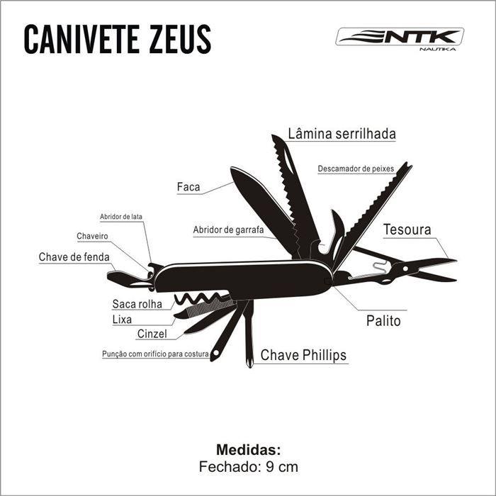 Canivete Multifunção ZEUS - NTK