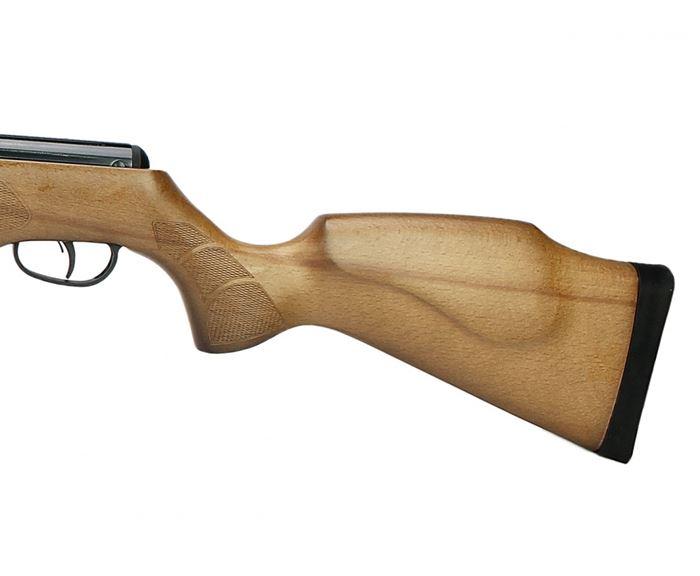 Carabina de Pressão CBC B19-X 5.5mm - Coronha em Madeira