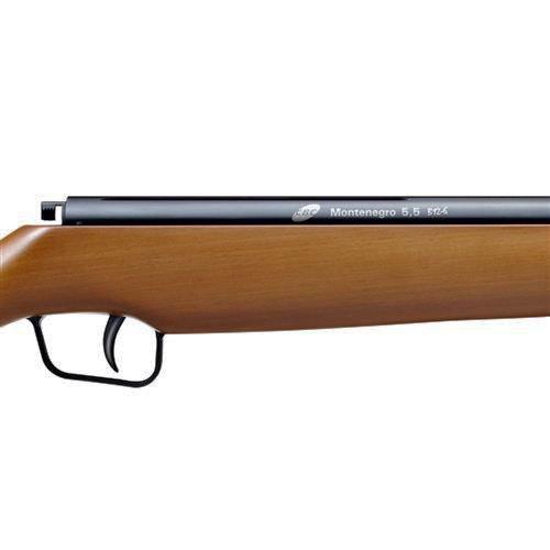 Carabina de Pressão CBC Montenegro B12-6 5.5mm - Coronha em Madeira