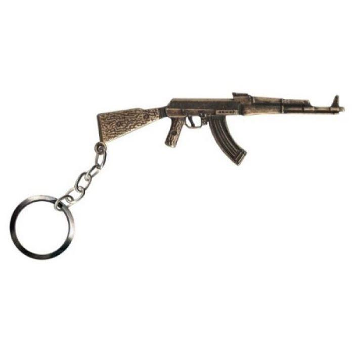 Chaveiro AK47 - Ouro Velho