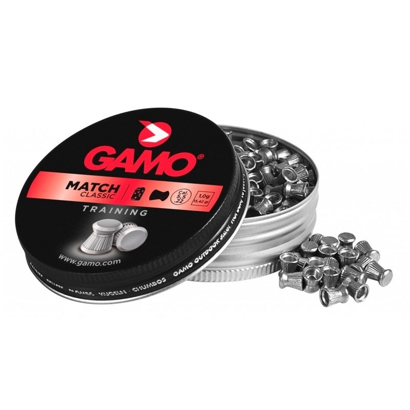 Chumbinho Match Classic 5.5 - GAMO - 125 Unidades