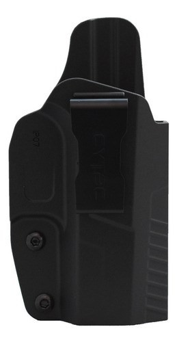 Coldre Interno em Polímero CY-IP07G2 Pistolas Cz Duty P07 P09 - CYTAC - Destro