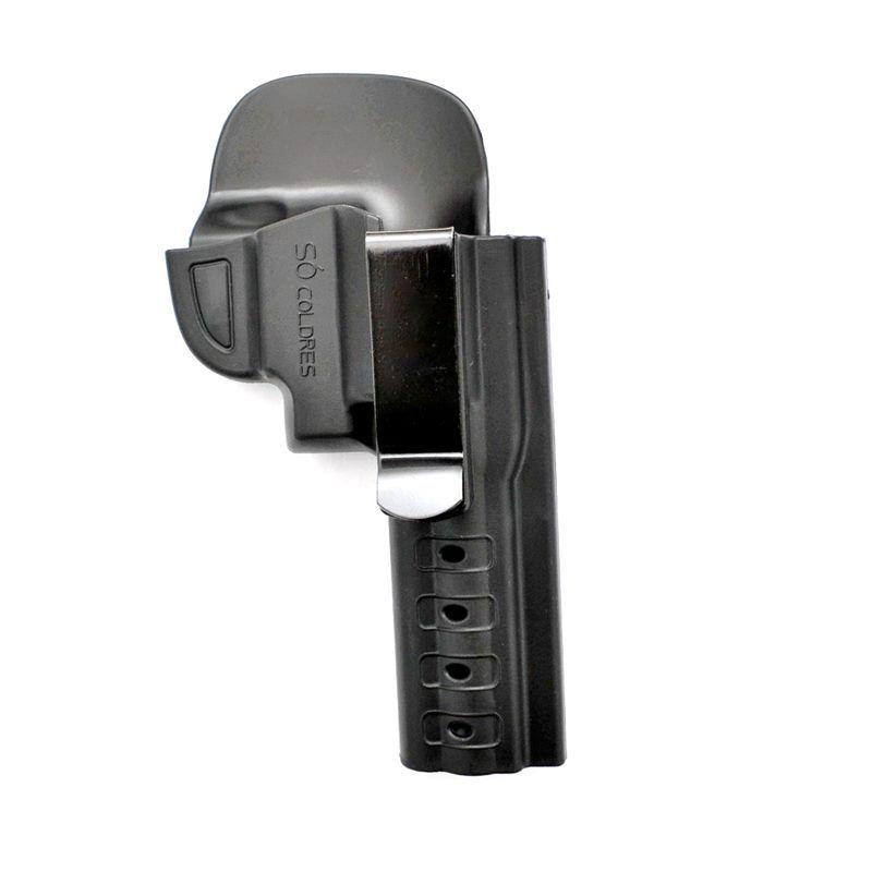 Coldre Velado em Polímero para Revolver 6 Tiros Calibre .38 - Só Coldres
