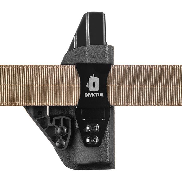 Coldre Velado IWB Kydex Invictus Glock Compact G19 / G23 / G25
