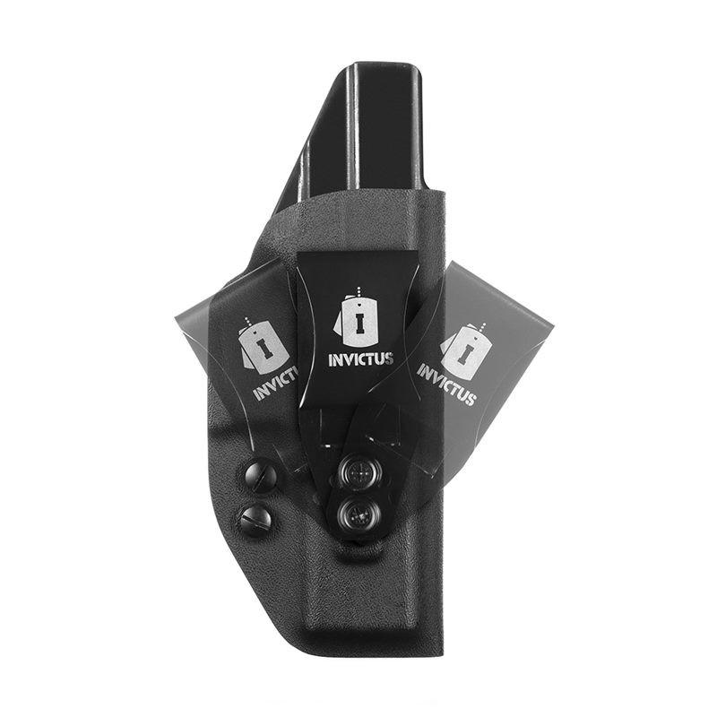 Coldre Velado IWB Kydex Invictus Glock Standard G17 / G22