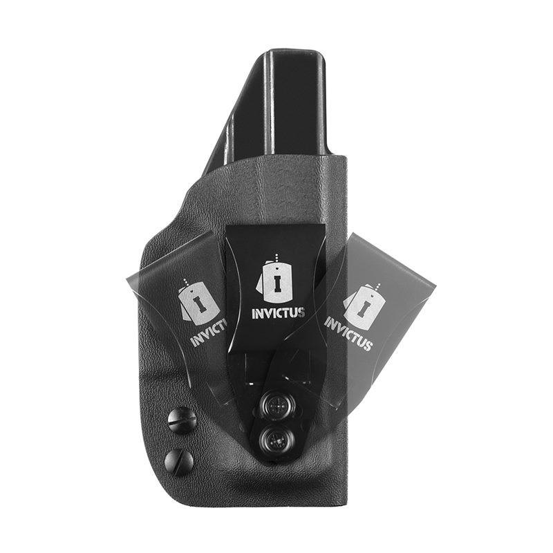Coldre Velado IWB Kydex Invictus Glock Subcompact G26 / G27 / G28