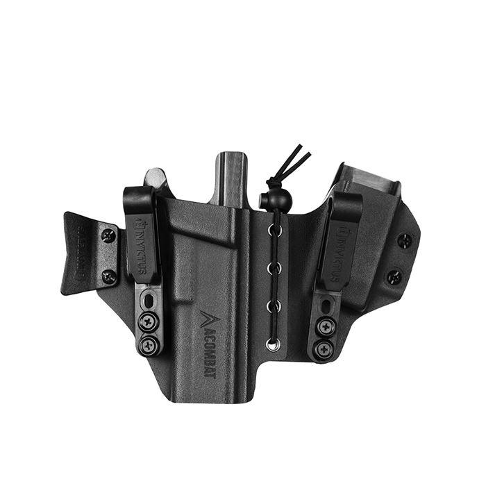 Coldre Velado IWB SIDECAR Kydex Invictus Glock .40 GEN.5 ACOMBAT