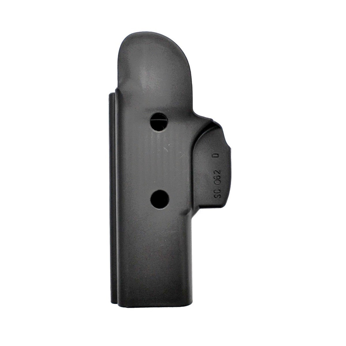 Coldre Velado Universal em Polímero para Pistola - Só Coldres