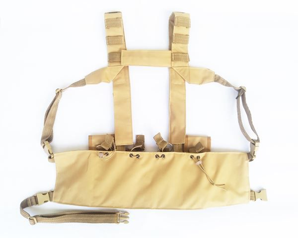 Colete Chest Rig Javali TG - Coyote