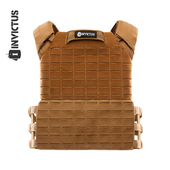Colete Plate Carrier APOLO Invictus - Coyote