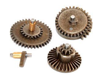 Conjunto de engrenagens de aço (metalurgia a pó) - 18:1