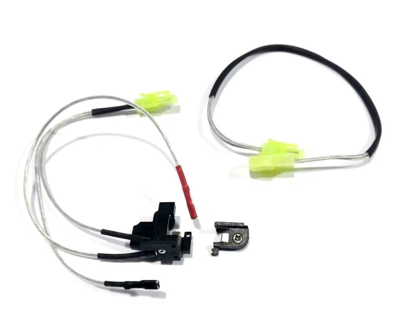 Contato de Gatilho para Gerabox V2 com Fiação Traseira - Conectores Mini Tamya - Rocket