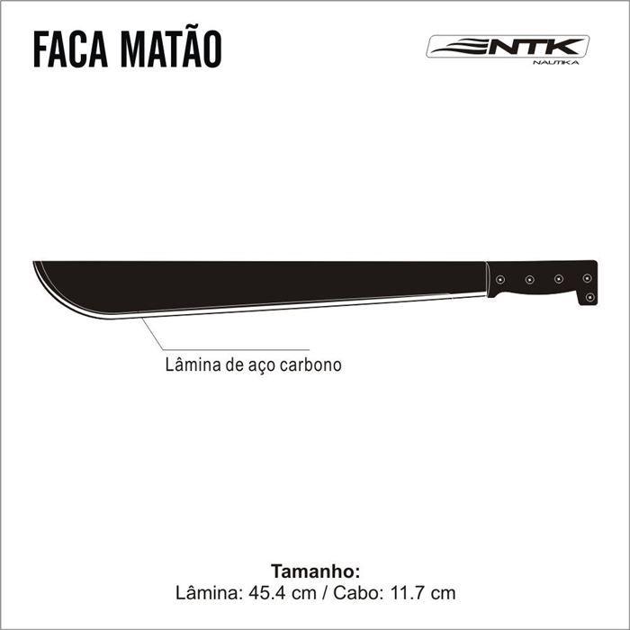 Facão MATÃO - NTK