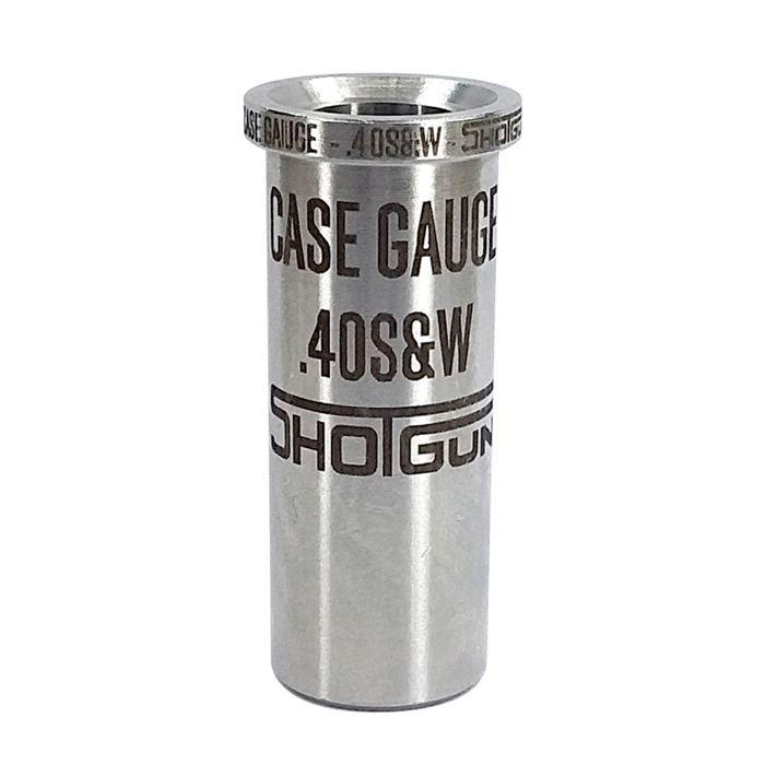 Gabarito Simulação de Câmara (Case Gauge) Shotgun - Cal.40S&W